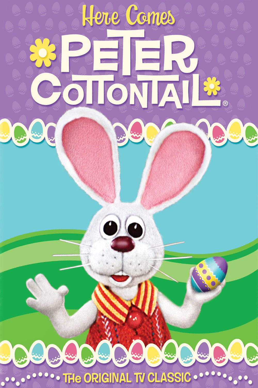 "Poster for the movie ""Here Comes Peter Cottontail"""