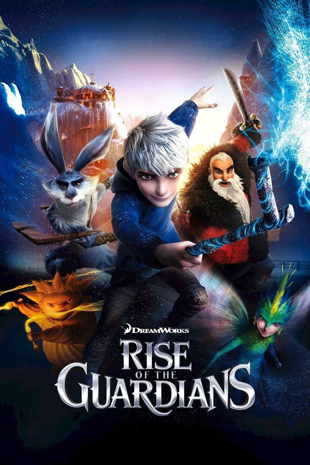 """Poster for the movie """"Rise of the Guardians"""""""