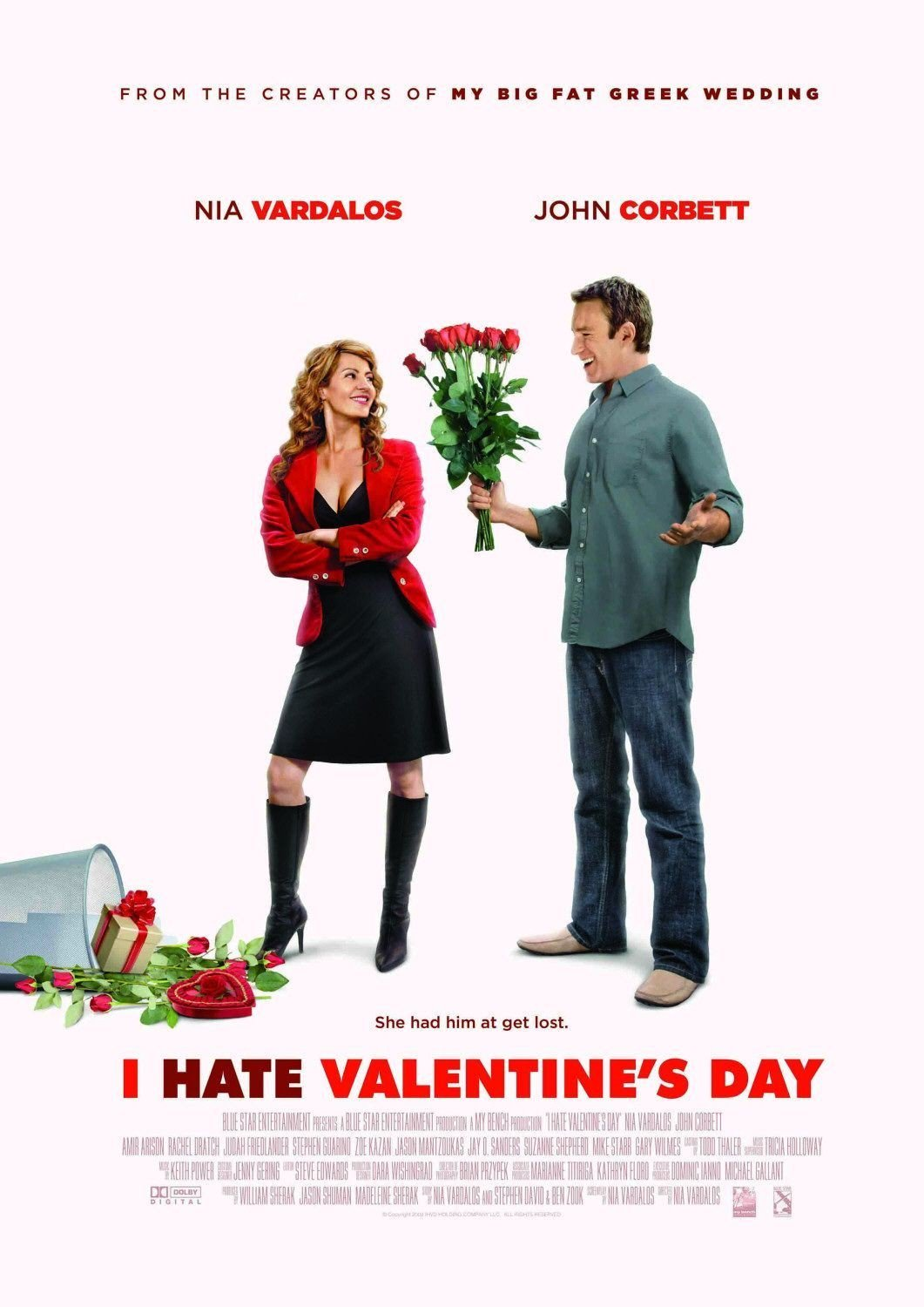 """Poster for the movie """"I Hate Valentine's Day"""""""