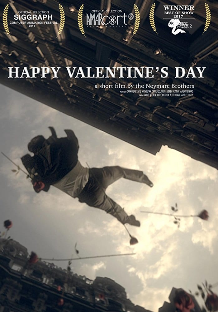 "Poster for the movie ""Happy Valentine's Day"""