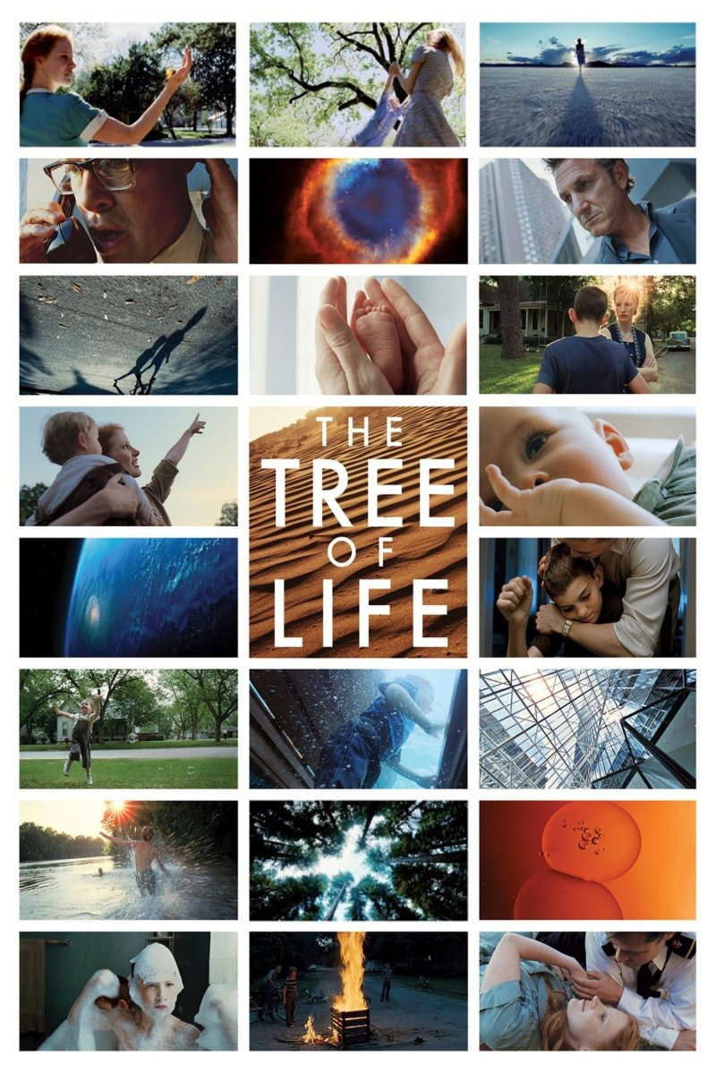 "Poster for the movie ""The Tree of Life"""