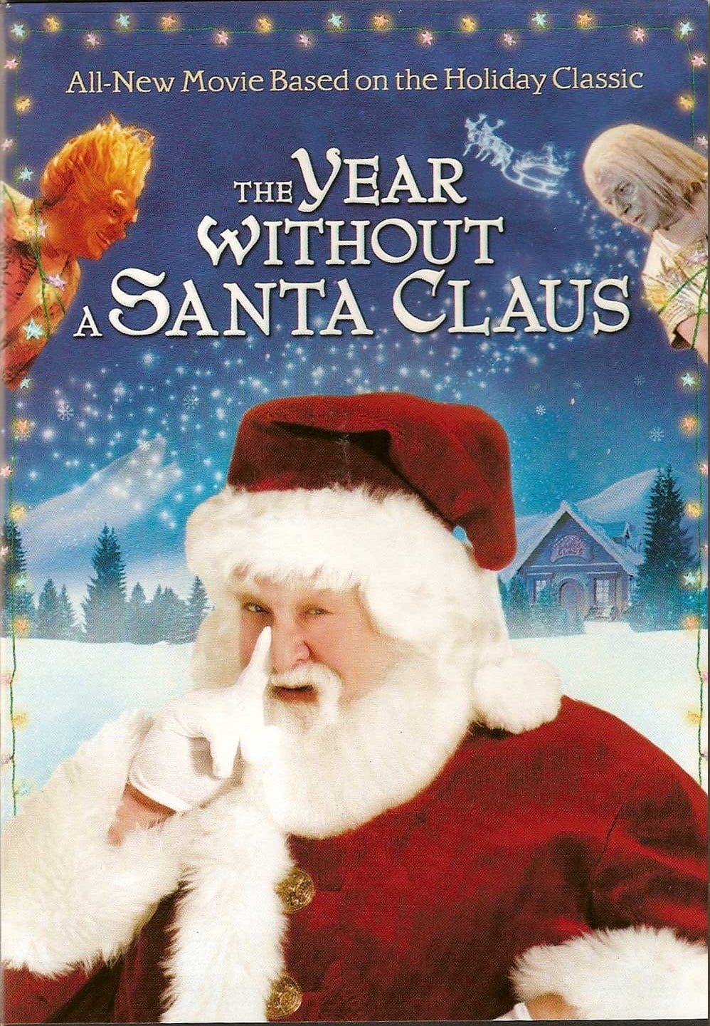 """Poster for the movie """"The Year Without a Santa Claus"""""""