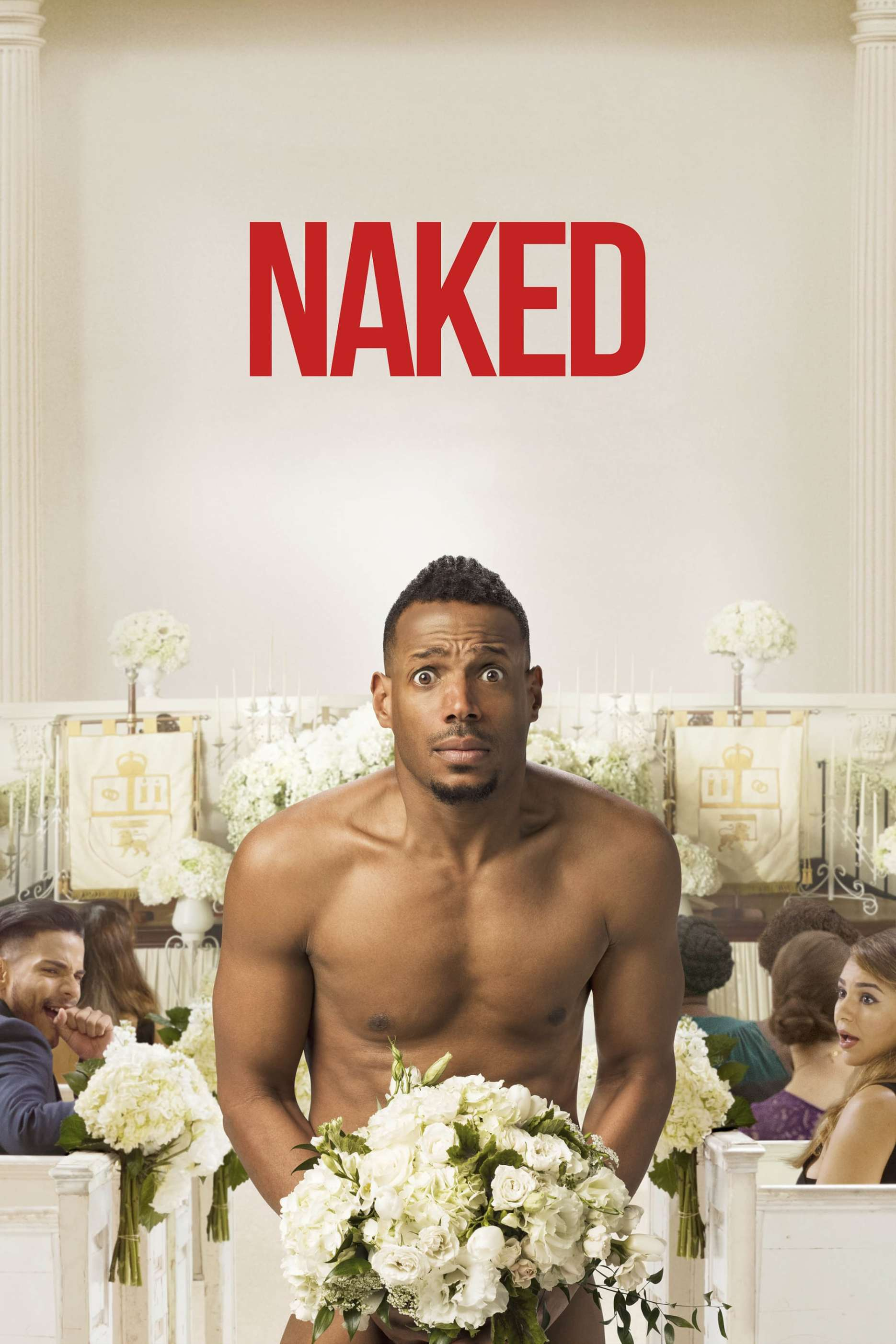"Poster for the movie ""Naked"""