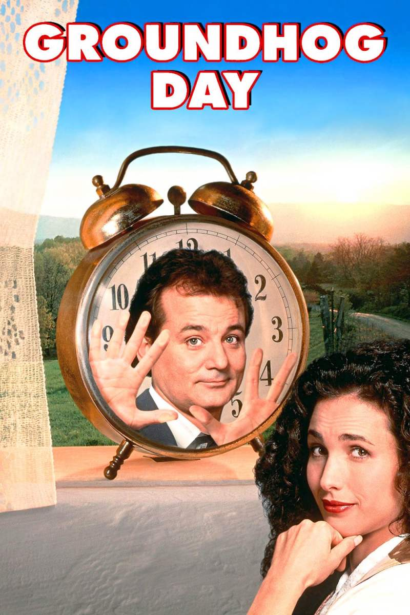 "Poster for the movie ""Groundhog Day"""