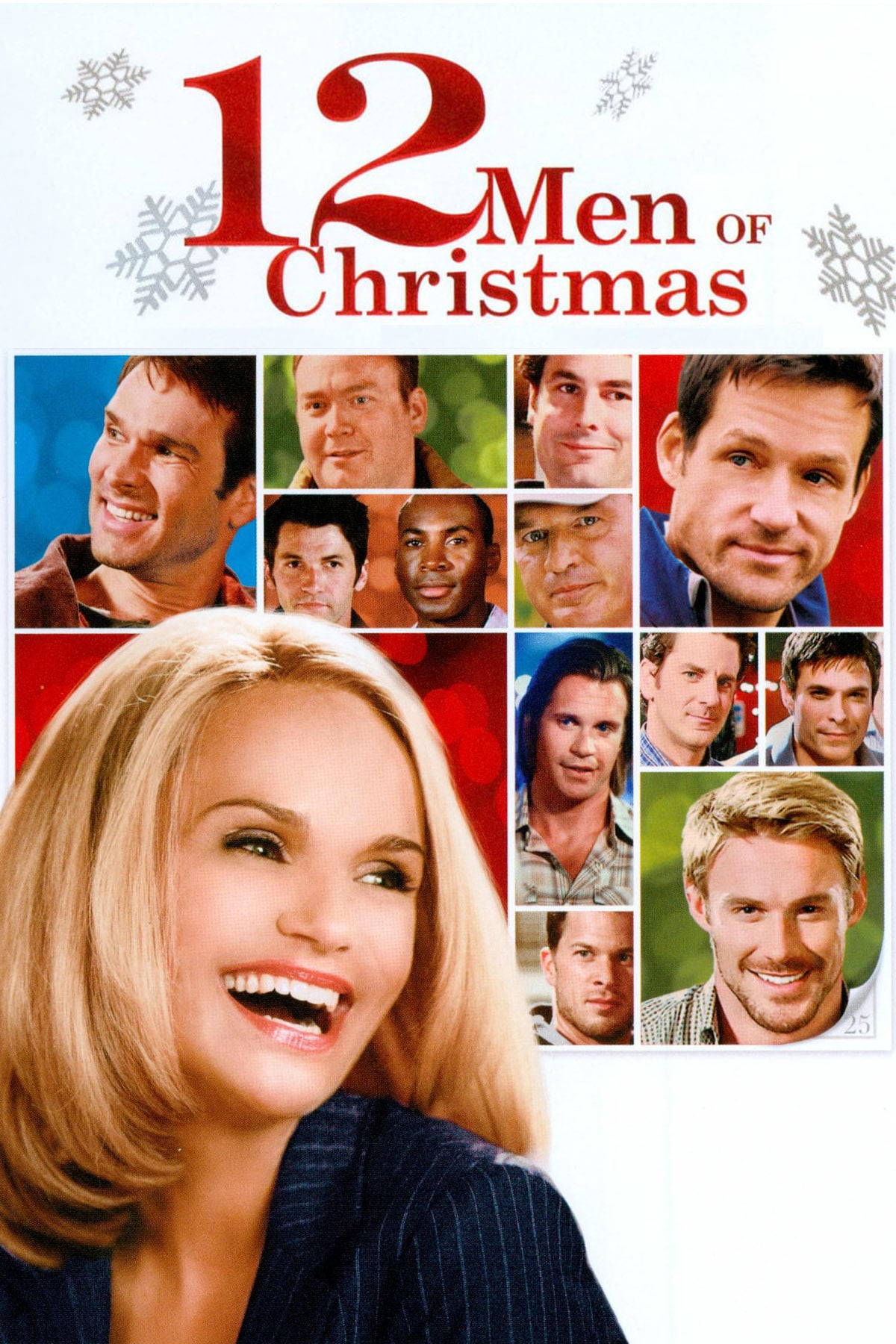 """Poster for the movie """"12 Men of Christmas"""""""