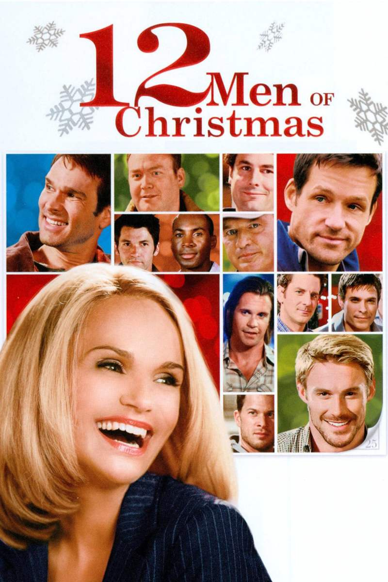 "Poster for the movie ""12 Men of Christmas"""