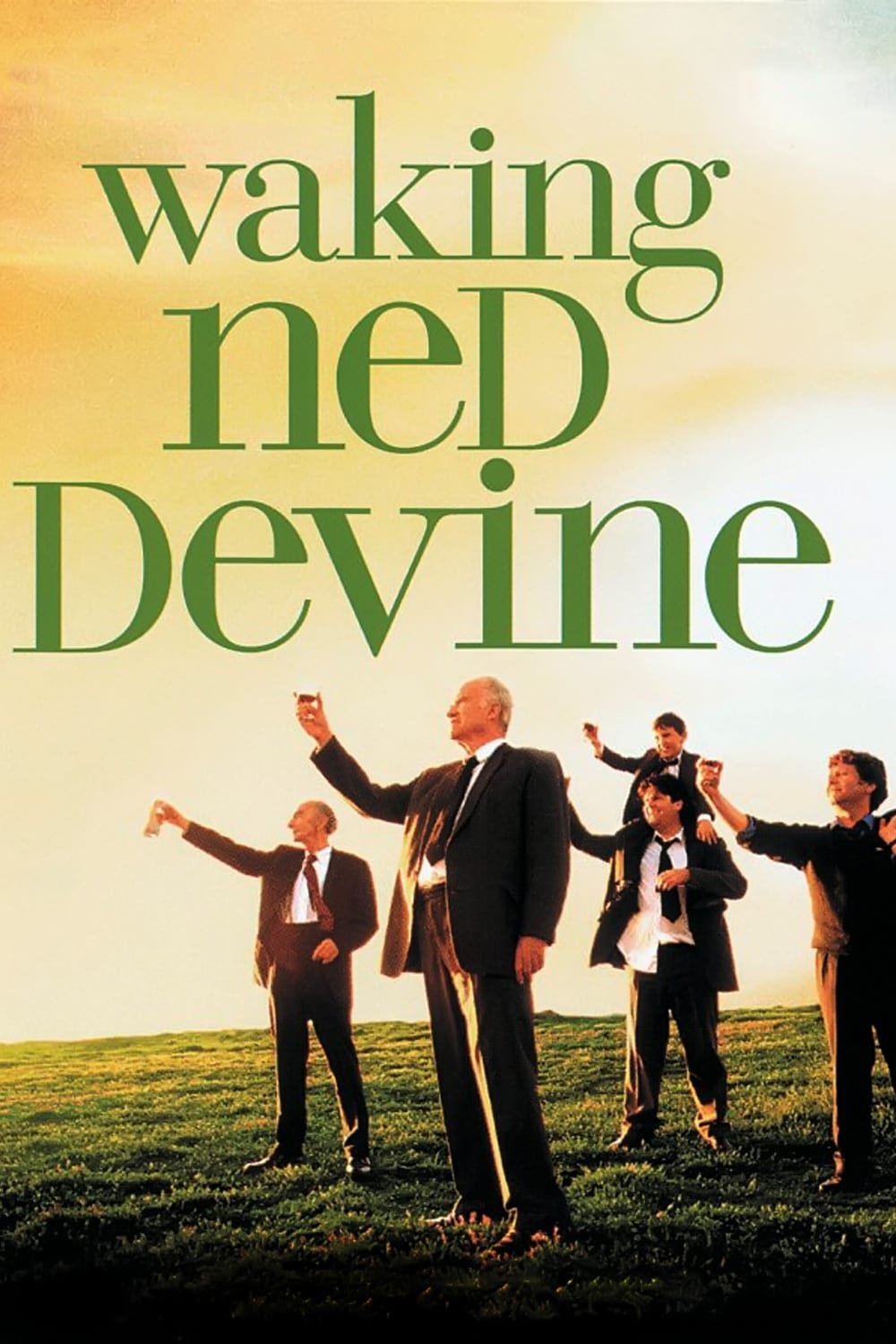 "Poster for the movie ""Waking Ned"""
