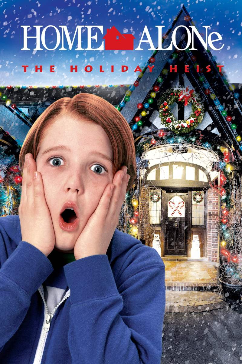 "Poster for the movie ""Home Alone 5: The Holiday Heist"""