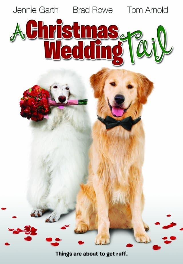 "Poster for the movie ""A Christmas Wedding Tail"""