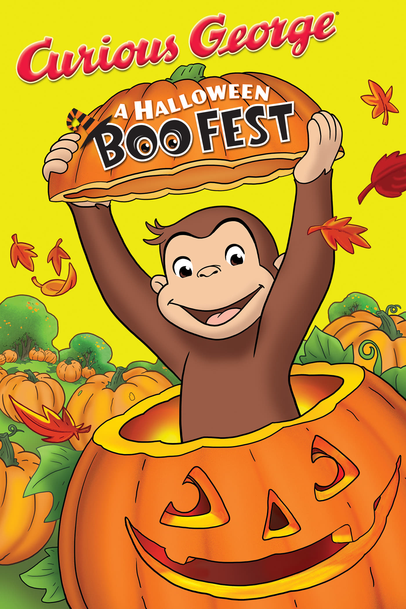 """Poster for the movie """"Curious George: A Halloween Boo Fest"""""""