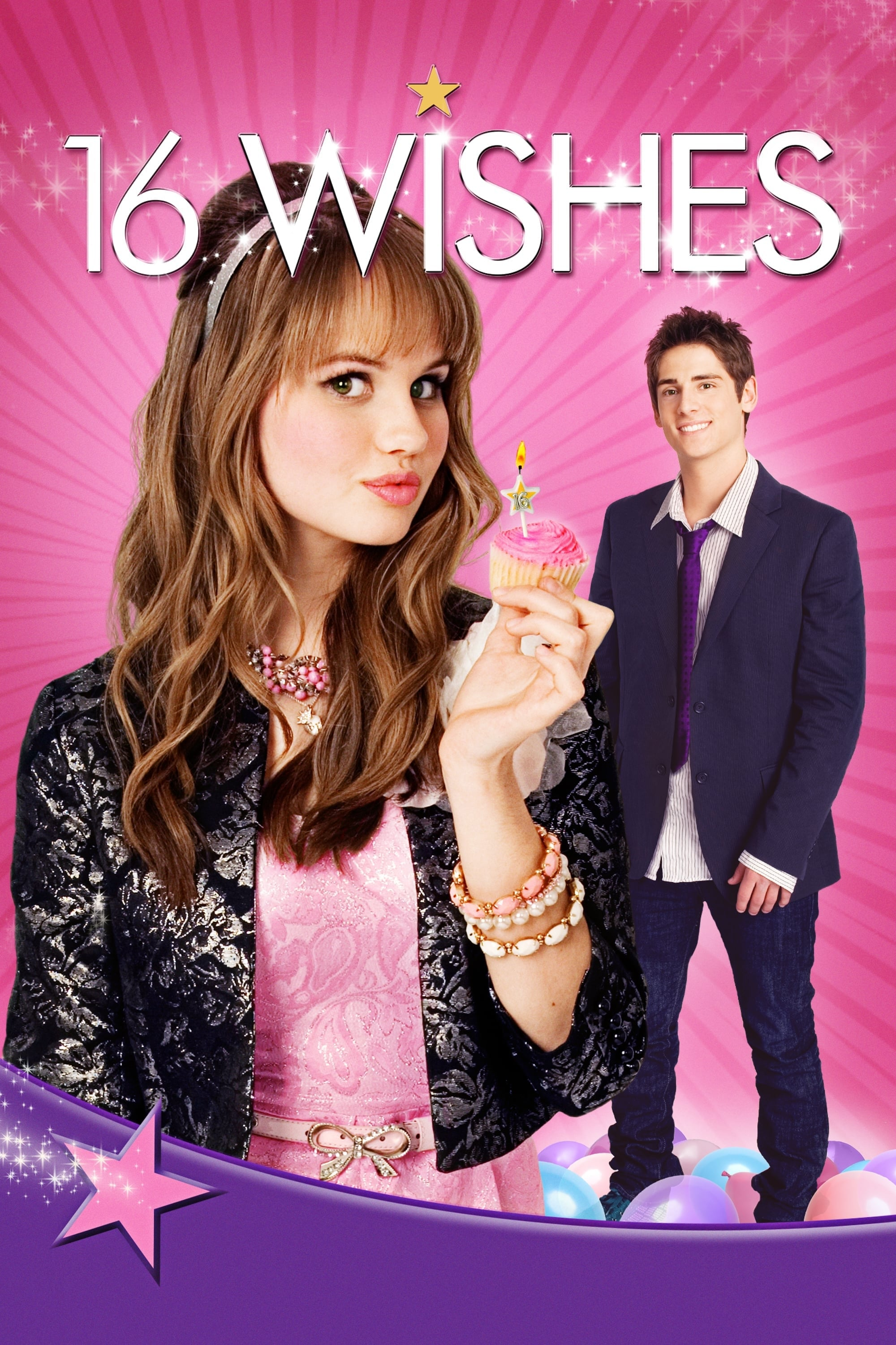 """Poster for the movie """"16 Wishes"""""""