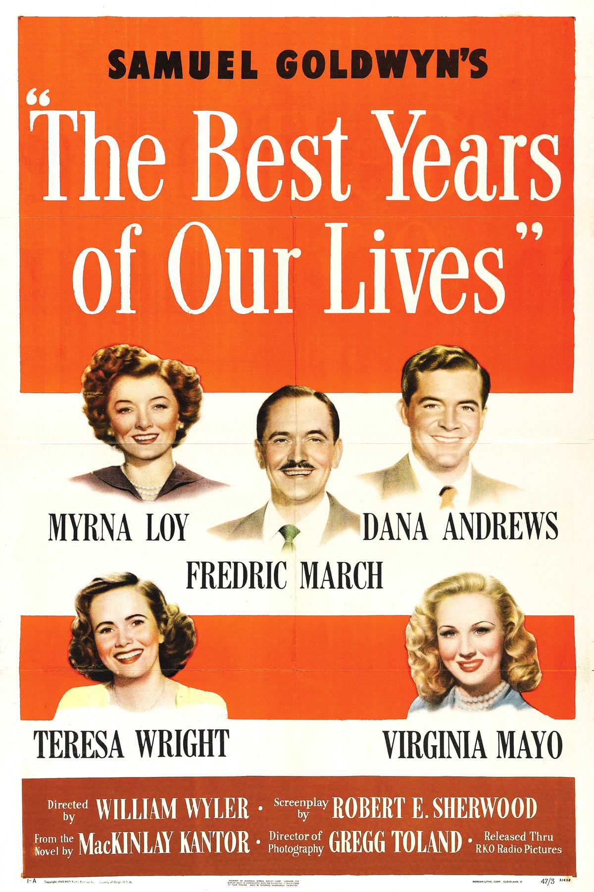 """Poster for the movie """"The Best Years of Our Lives"""""""