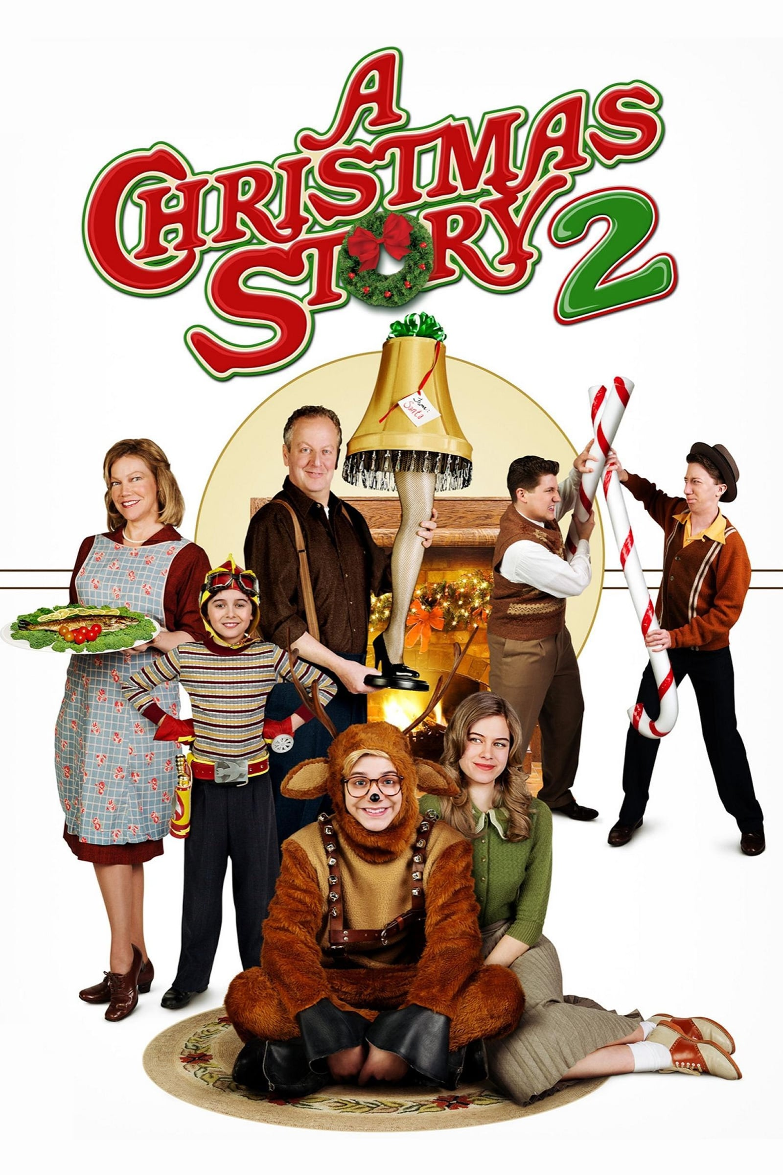 """Poster for the movie """"A Christmas Story 2"""""""
