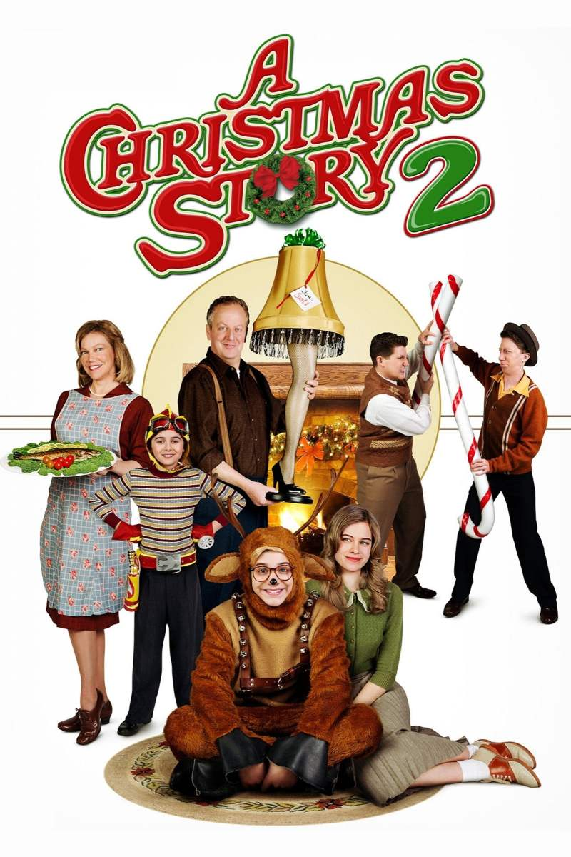 "Poster for the movie ""A Christmas Story 2"""