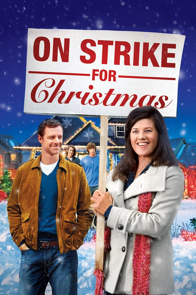 "Poster for the movie ""On Strike for Christmas"""