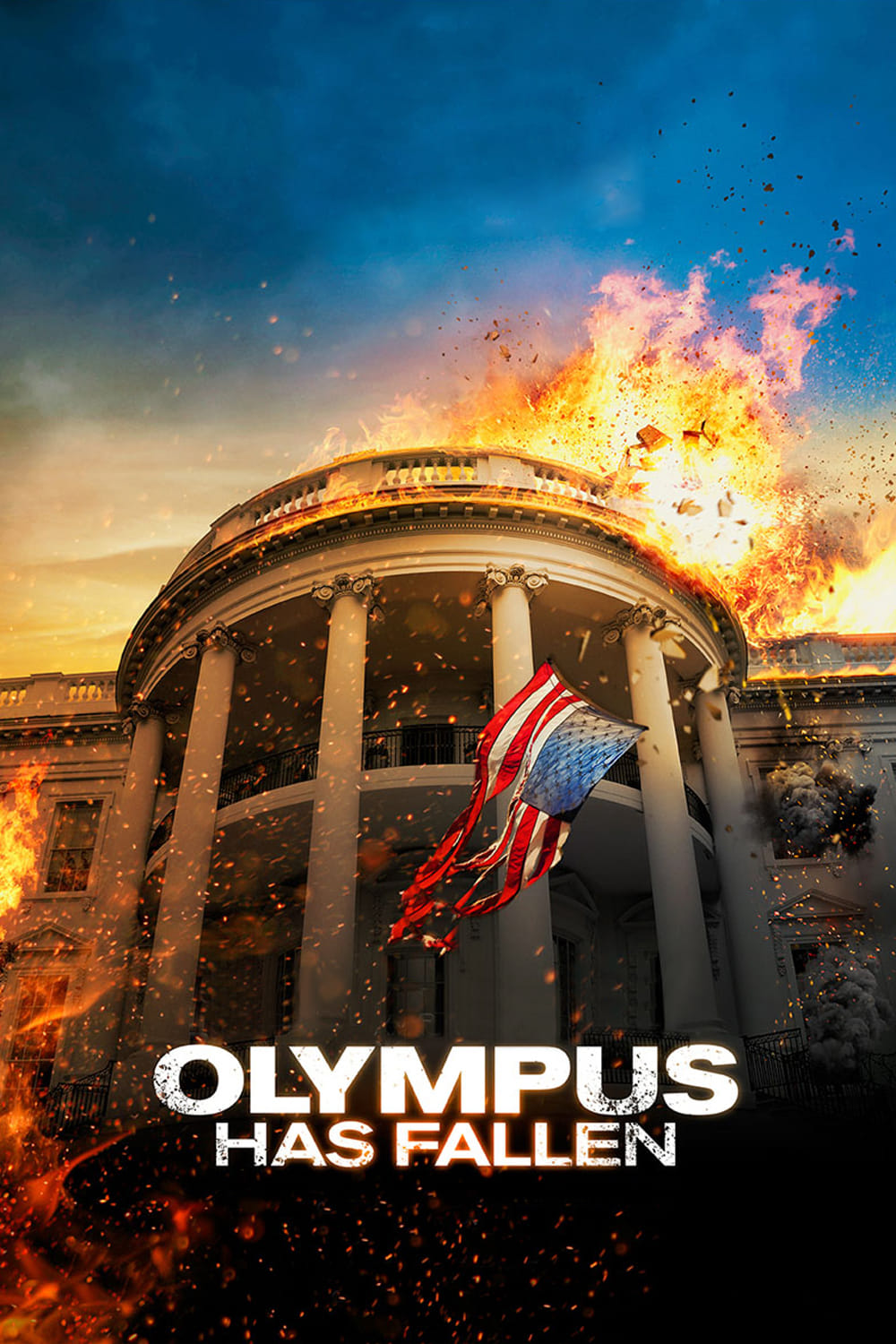 "Poster for the movie ""Olympus Has Fallen"""
