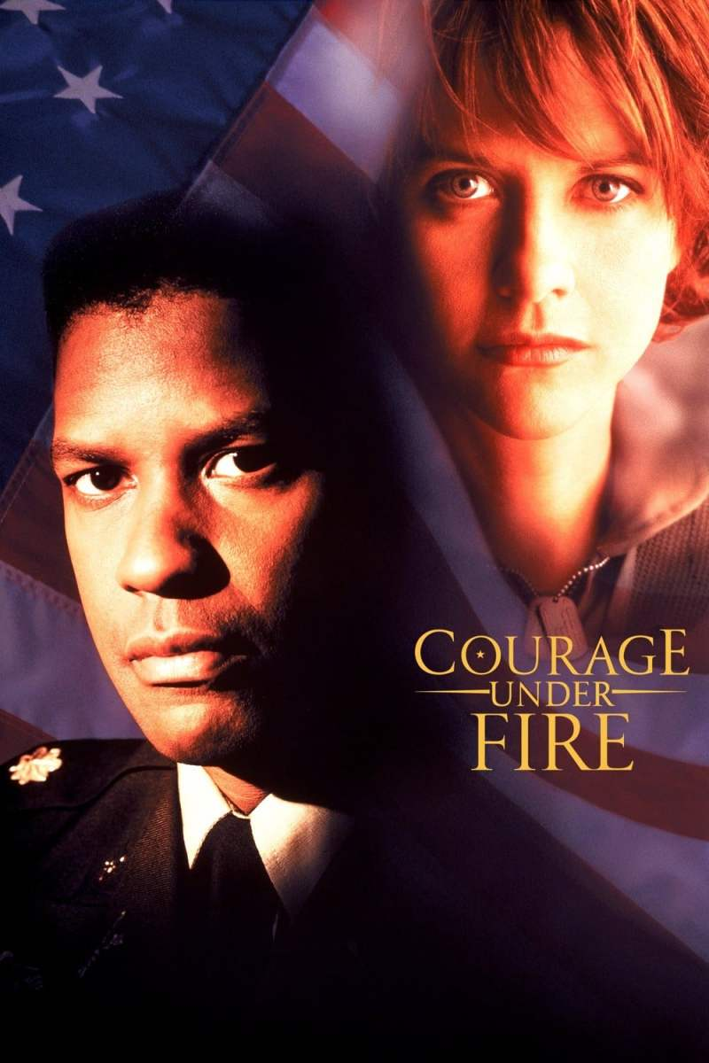"Poster for the movie ""Courage Under Fire"""