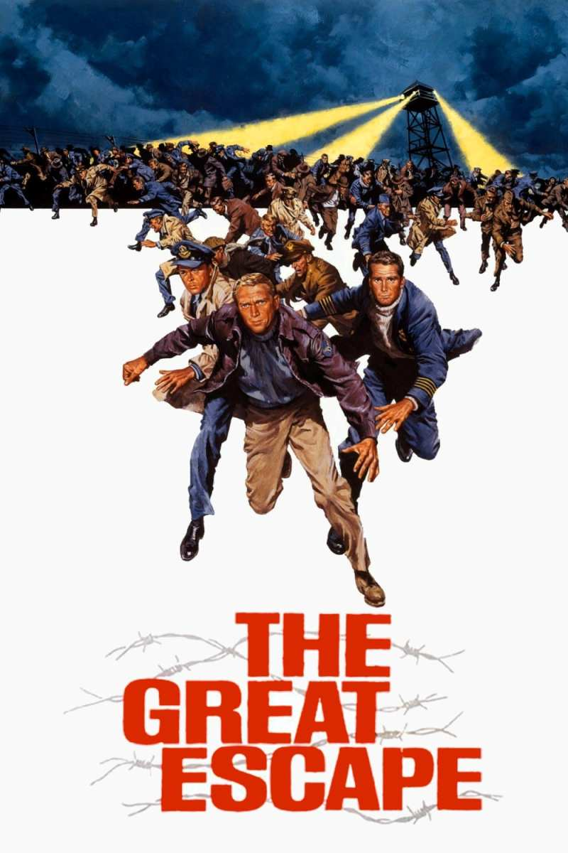 "Poster for the movie ""The Great Escape"""