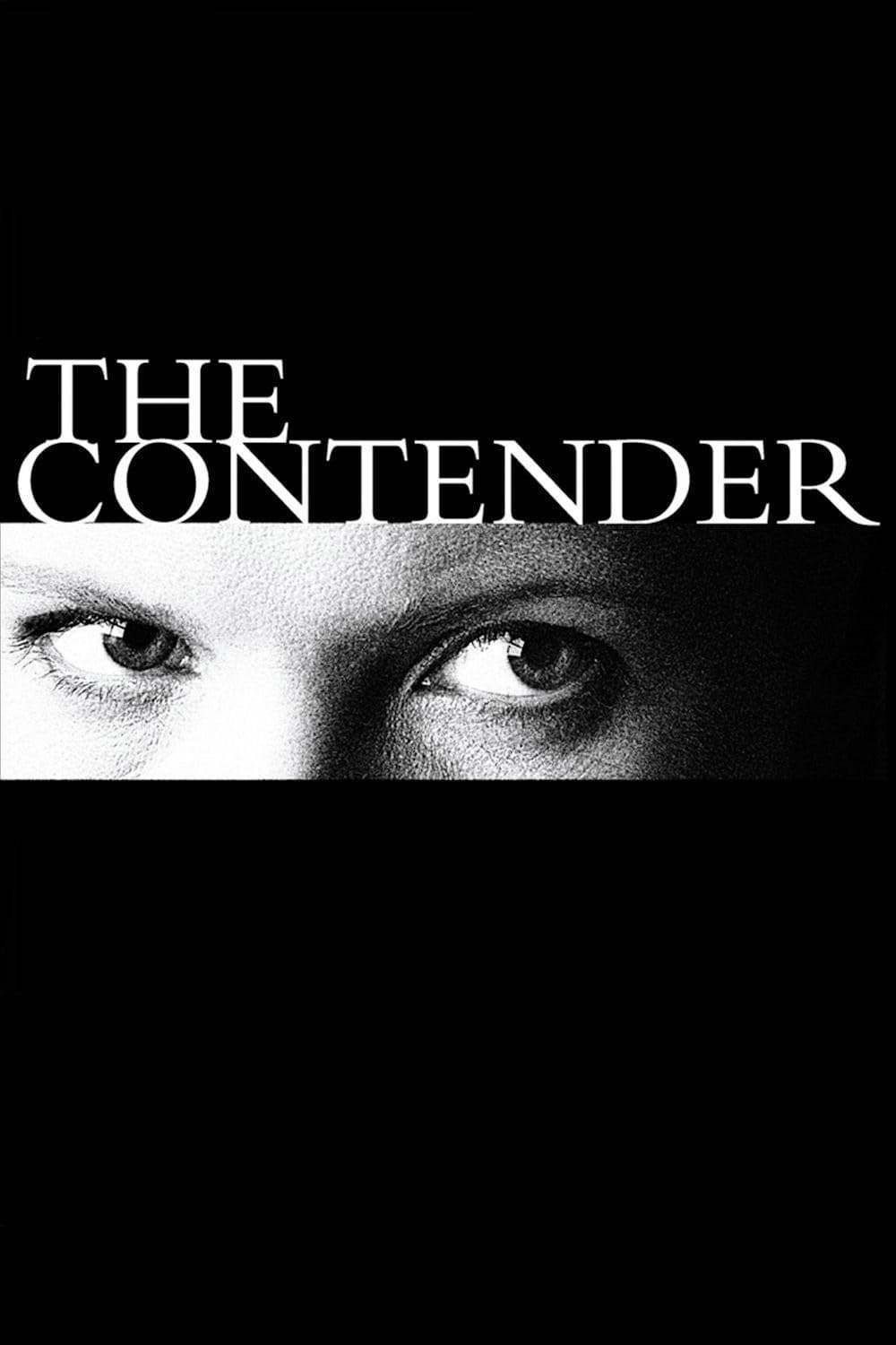 """Poster for the movie """"The Contender"""""""
