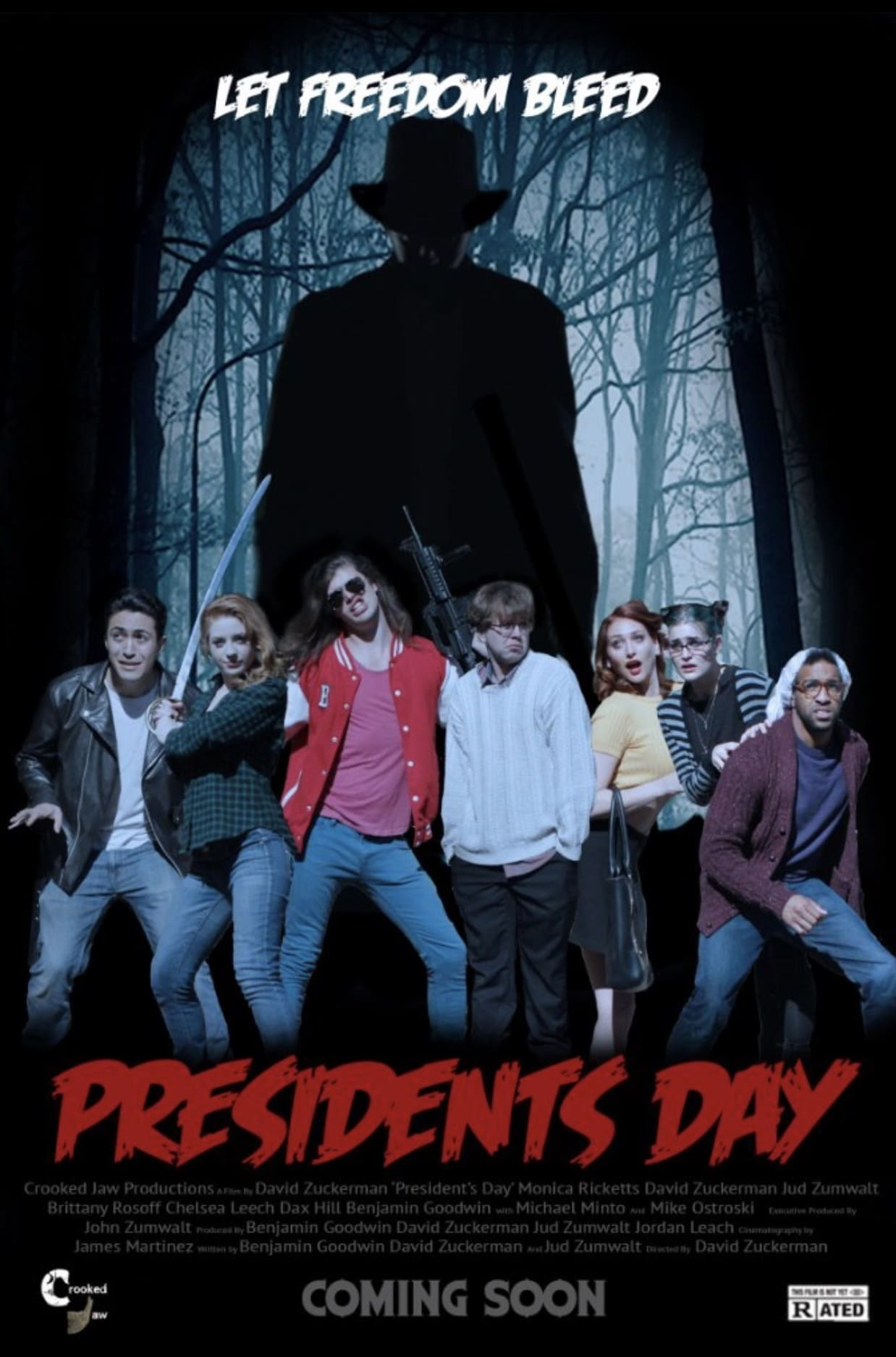 """Poster for the movie """"President's Day"""""""