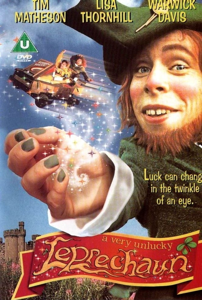 "Poster for the movie ""A Very Unlucky Leprechaun"""