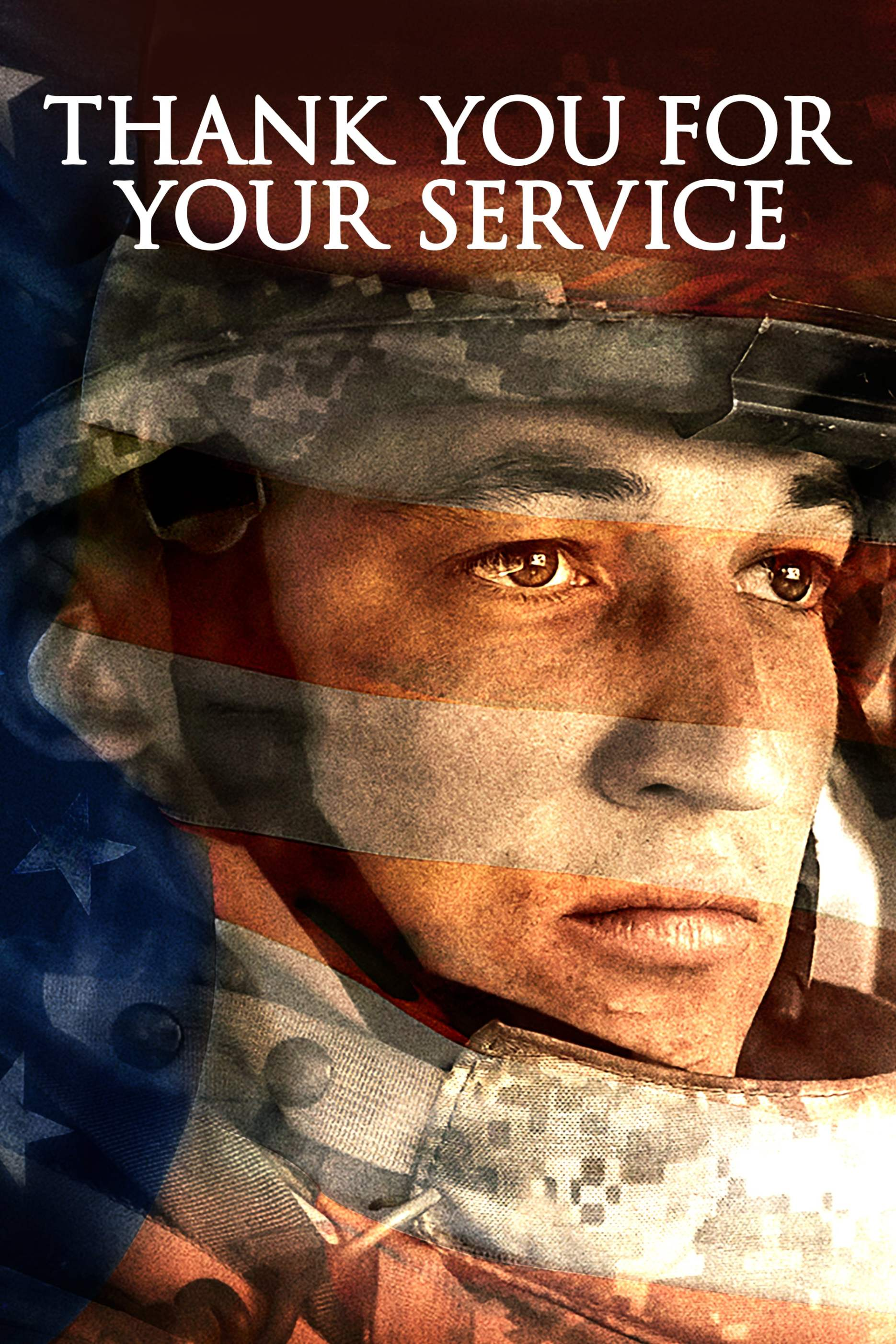 "Poster for the movie ""Thank You for Your Service"""
