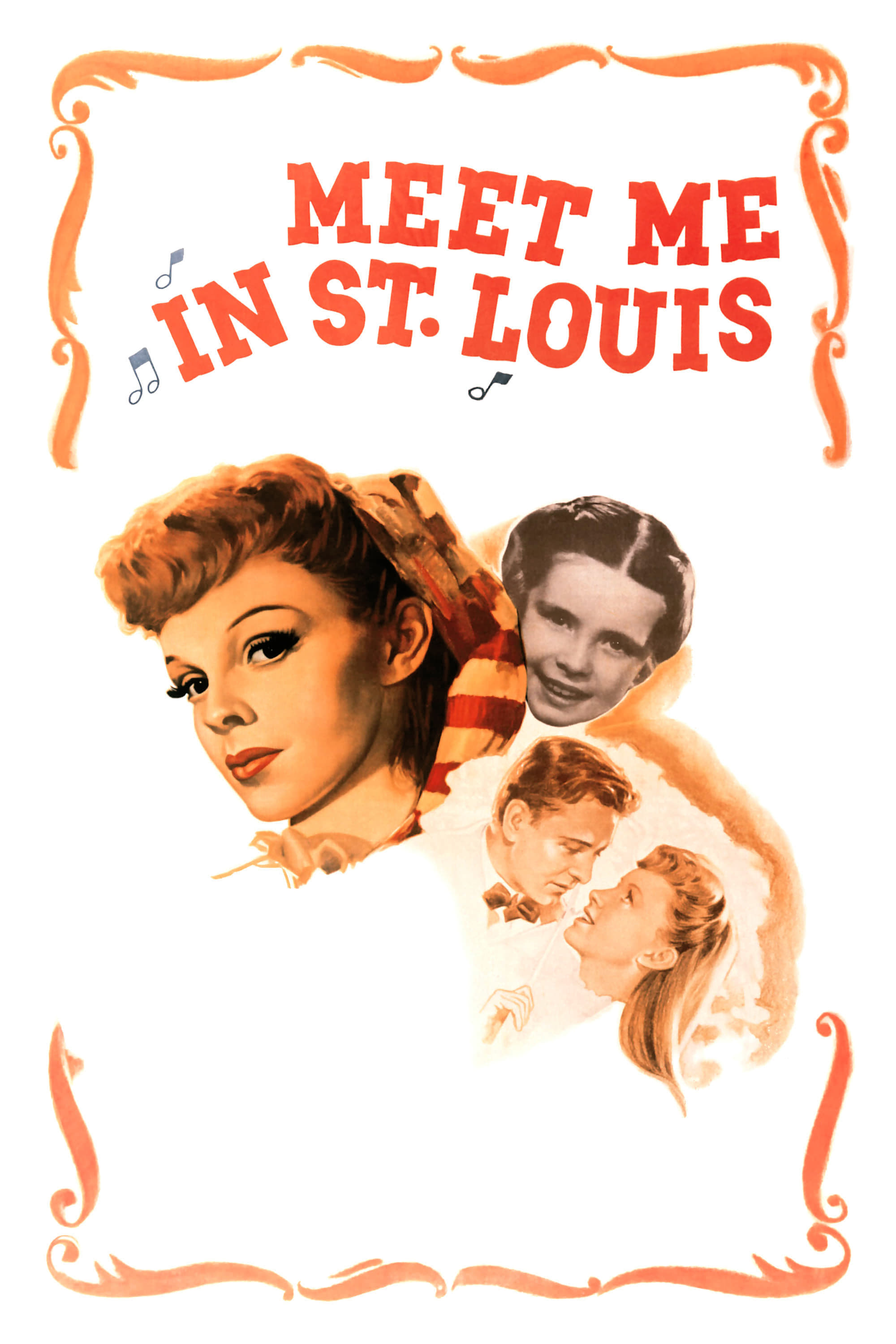 "Poster for the movie ""Meet Me in St. Louis"""
