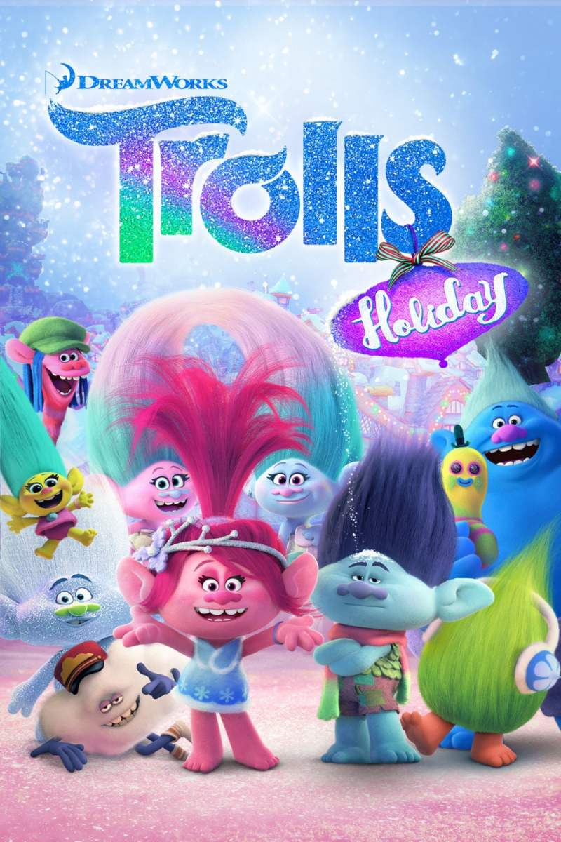 "Poster for the movie ""Trolls Holiday"""