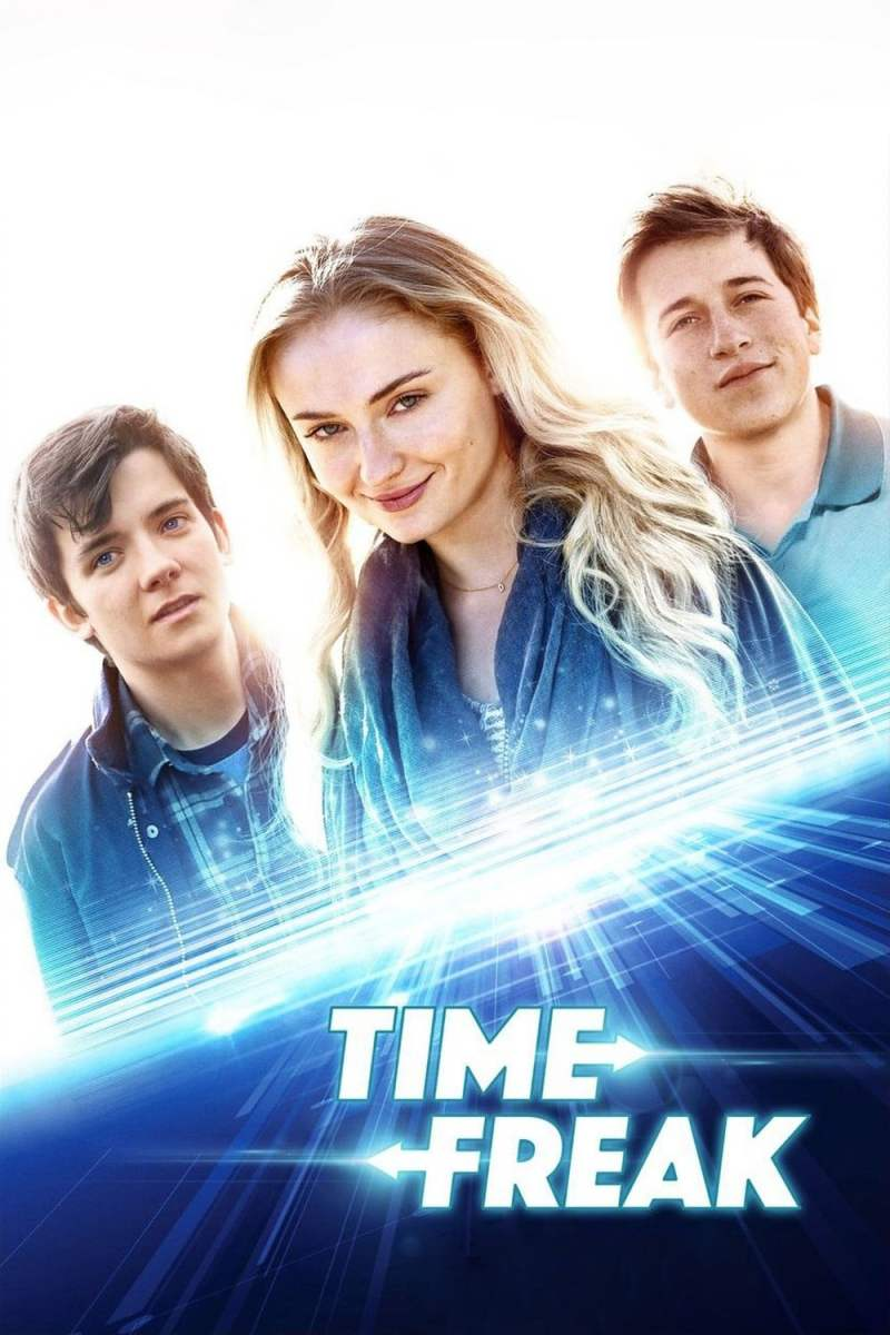 "Poster for the movie ""Time Freak"""