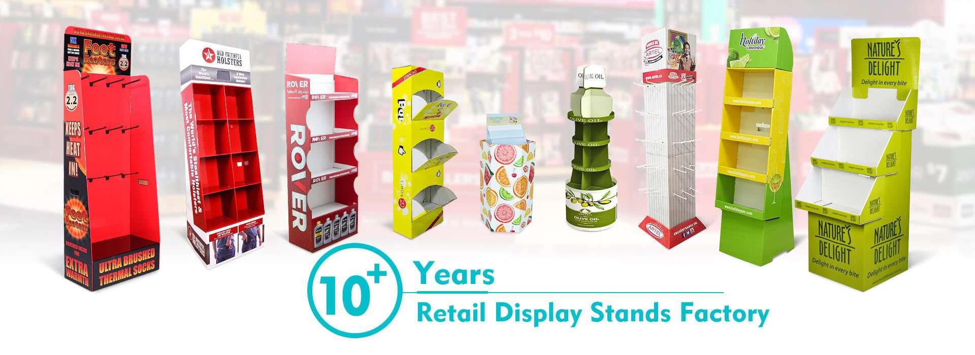 cardboard display manufacturer pop