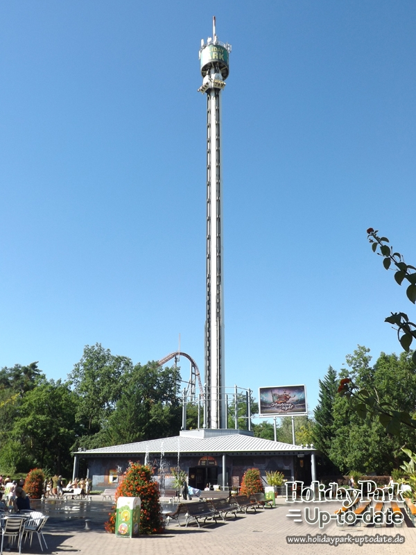 Free Fall Tower Holiday Park Uptodate