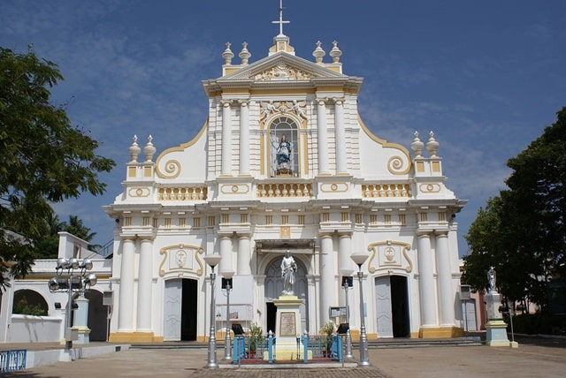 Immaculate Conception Cathedral Church Pondicherry