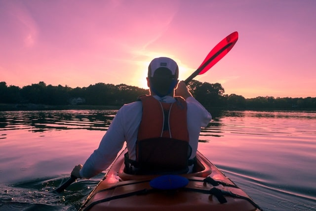 Go Kayaking In The Deep Cove