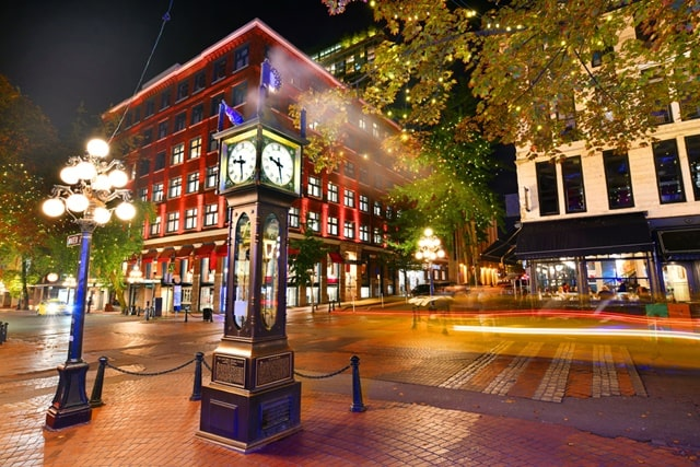 Places To Visit In Vancouver Tourism: Gastown
