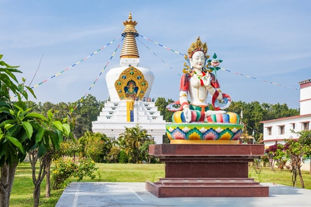 Clement Town Stupa – Largest Stupa In The World