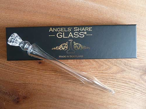 Angel's Share Whisky Dropper wiith thistle topper