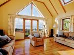Askival Elgol Skye House living area with view
