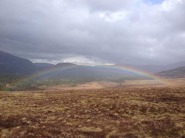 Rainbow what to do aviemore scotland