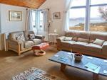 Thorsvik Broadford Skye living room with view