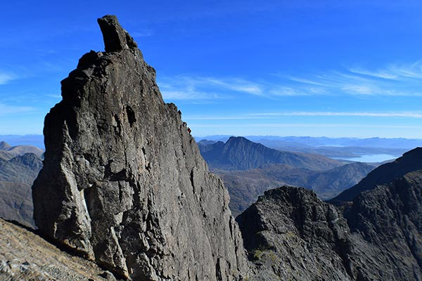Things to do on the Isle of Skye: Inn Pin on Sgurr Dearg