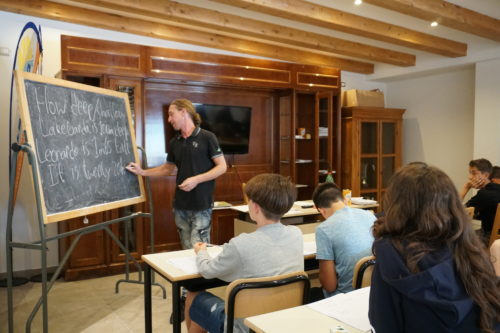 Trentino English Camp - Holiday System