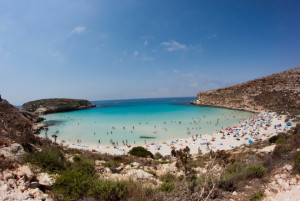 Rabbit Beach, Lampedusa