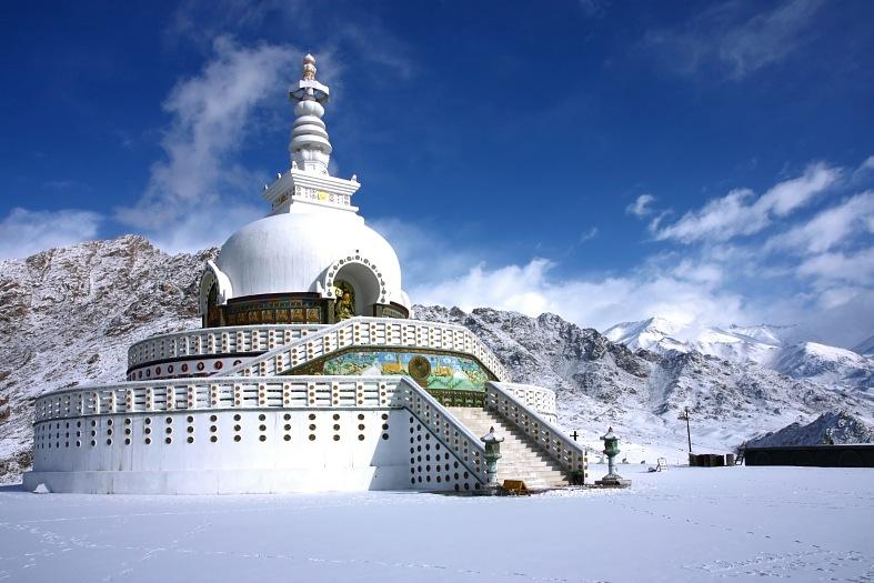 Trip tp Leh - Ladakh - Shanti Stupa