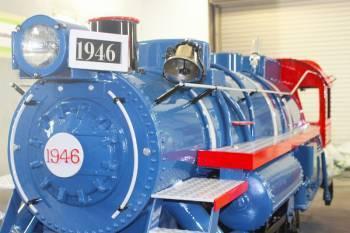 Freedom Train, freshly painted