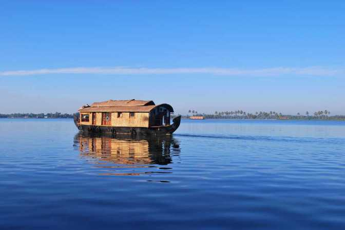Backwaters of Kerala, tourist places in south India