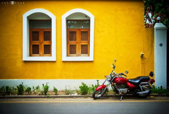 Pondicherry, Places to visit in South India