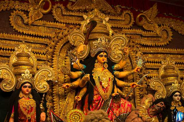 Image result for durga puja bengal