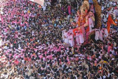Ganesh Chaturthi in Mumbai   Dates  Celebrations  Festivities Lalbaugcha Raja  Ganesh Chaturthi Mumbai