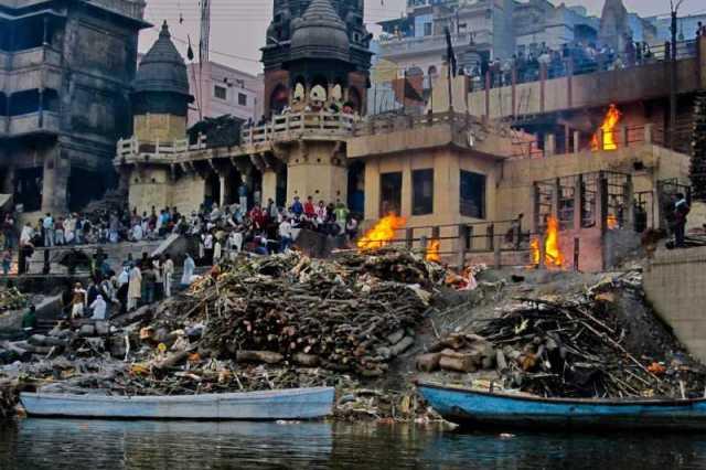 Image result for harishchandra ghat pics