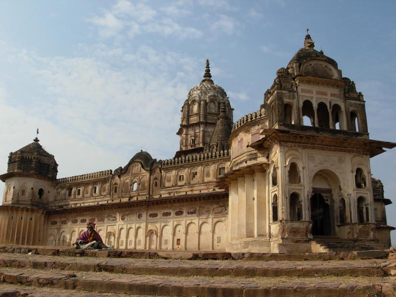Lakshmi Temple, Orchha, Destinations for November in India